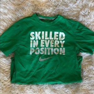 Nike slogan T-shirt